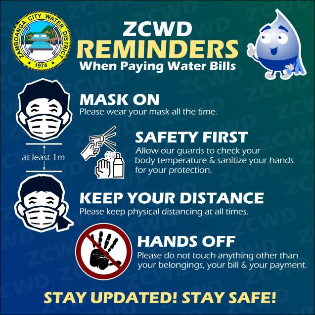 Payment Reminders: Stay Safe and Stay Healthy!